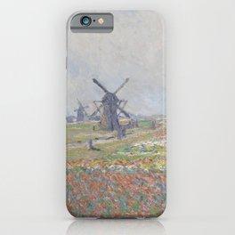 Tulip Fields near The Hague iPhone Case