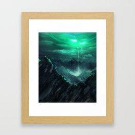 The Breach Framed Art Print