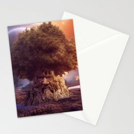The Cosmic Tree  Stationery Cards