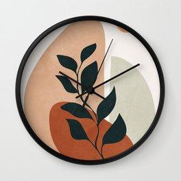 Soft Shapes II Wall Clock