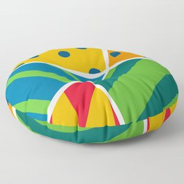 Party Poppers Floor Pillow