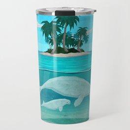 Manatee Island Travel Mug