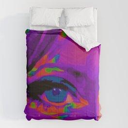 Debbie Purple Comforters