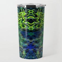 Black Scratch Mandala 6 Travel Mug