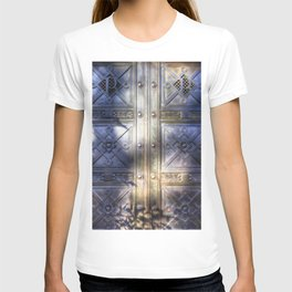 Crypt Door Highgate Cemetery T-shirt