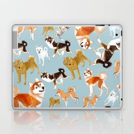 Japanese Dog Breeds Laptop & iPad Skin