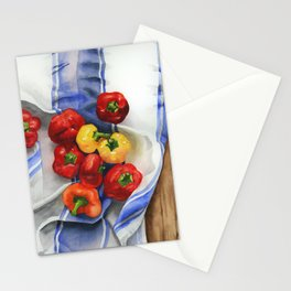 Mini Peppers Stationery Cards