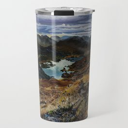 View from Torc Mountain, Killarney National Park, Ireland Travel Mug