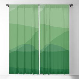 Waves: Forest Bathing Blackout Curtain