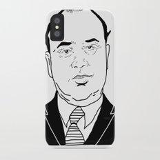 Al 'Scarface' Capone iPhone X Slim Case