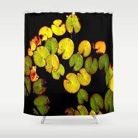 pacman Shower Curtains featuring Pacman by Chris' Landscape Images & Designs