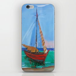 Sailboat iPhone Skin