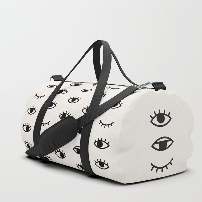 Eye Chart Duffle Bag