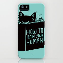 Cat Reader Advice iPhone Case