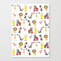 circus Canvas Prints featuring Circus by Lydia Meiying