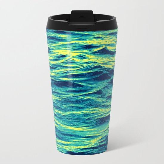OVER THE OCEAN Metal Travel Mug