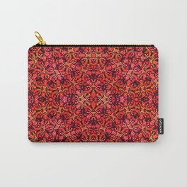 Floral Fireworks Pattern Carry-All Pouch