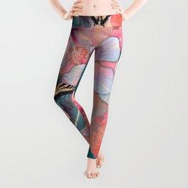 Hale Aloha Hibiscus Leggings
