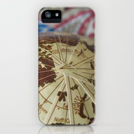 Cartographic Imperfections iPhone Case