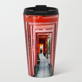 Torii Tunnel Travel Mug