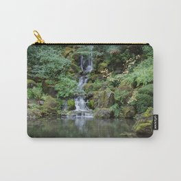 Portland Japanese Garden Waterfall Carry-All Pouch