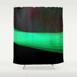 LASER Shower Curtain