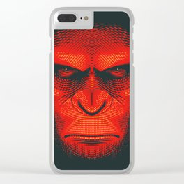 Planet of the Apes | Caesar Clear iPhone Case
