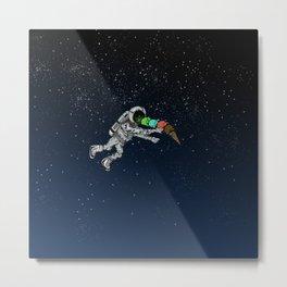 Spacetime Sadness Metal Print
