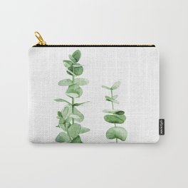 Eucalyptus leaves. Carry-All Pouch