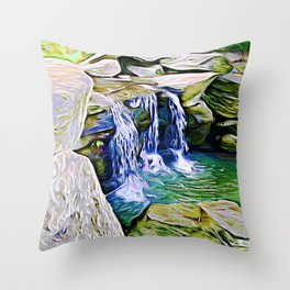The Three Brothers Trilogy Vol 3 Throw Pillow