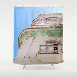 Habana Building Shower Curtain