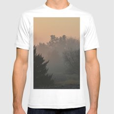 Before the Snows Mens Fitted Tee MEDIUM White