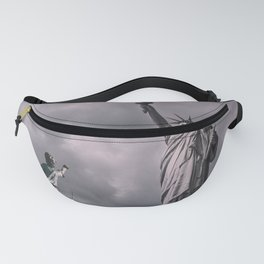 Statue of liberty rainbow Fanny Pack