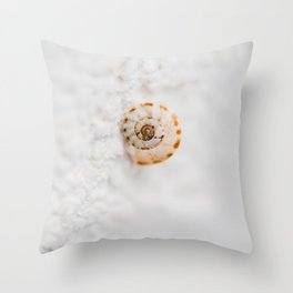 SMALL SNAIL Throw Pillow