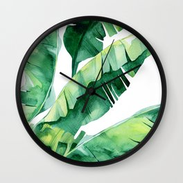 Tropical Color Wall Clock