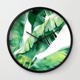 Tropical Color Wall Clock