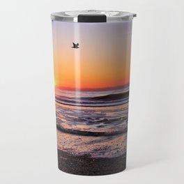 Gull in the Glow Travel Mug
