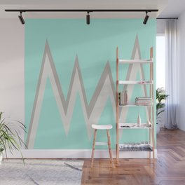 Turquoise Mountain Wall Mural