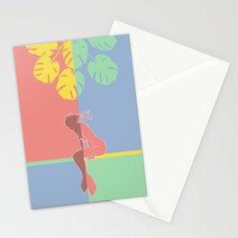 Waiting for Spring-Fashion Pantones 2021 Stationery Cards
