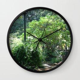 Alice Keck Park Memorial Gardens Wall Clock
