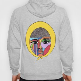 Colorful Lady Hoody