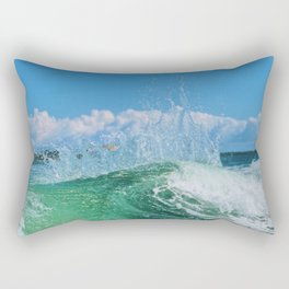 Miami Wave Rectangular Pillow