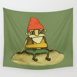 Garden Gnome Wall Tapestry