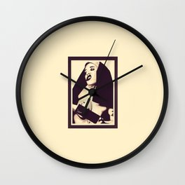 Mother Marry Ectasy 2 Wall Clock