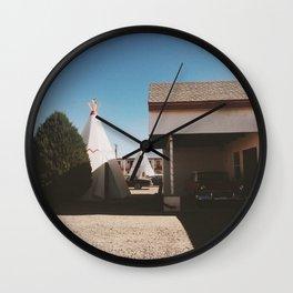 The Wigwam Motel Wall Clock