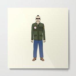 Taxi Driver - Travis Bickle  Metal Print