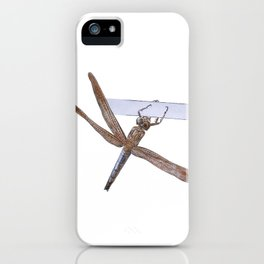 Shy Little Dragonfly iPhone Case