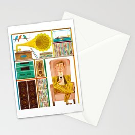 50 Records Stationery Cards