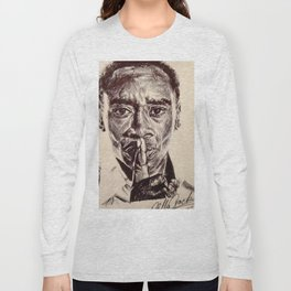 Don Cheadle Long Sleeve T-shirt