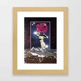 We're all an exploding star Framed Art Print